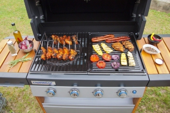 campingaz grillkorb spare rib halter premium bei. Black Bedroom Furniture Sets. Home Design Ideas