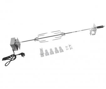 Campingaz Premium Drehspieß Edelstahl mit Motor für 3 & 4 Series Bild 1