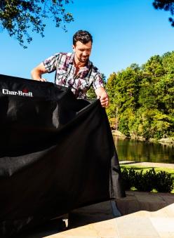 Char-Broil Schutzhülle Extrawide grill cover Bild 2