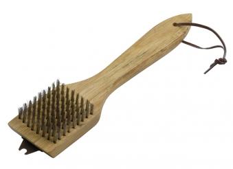 Dancook Grillbürste 30cm mit Holzgrill für Holzkohlegrill Bild 1