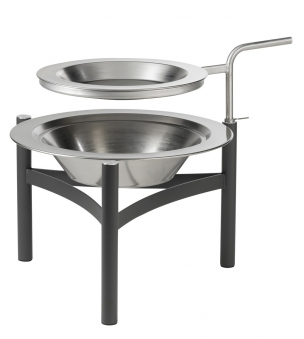 dancook grillpfanne pfanne edelstahl f r feuerkorb 9000. Black Bedroom Furniture Sets. Home Design Ideas
