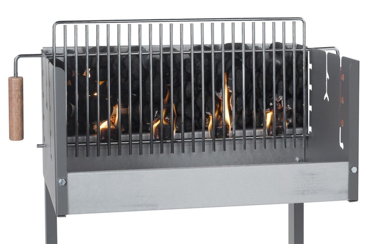 dancook holzkohlegrill vertikalgrill 7100 bei. Black Bedroom Furniture Sets. Home Design Ideas