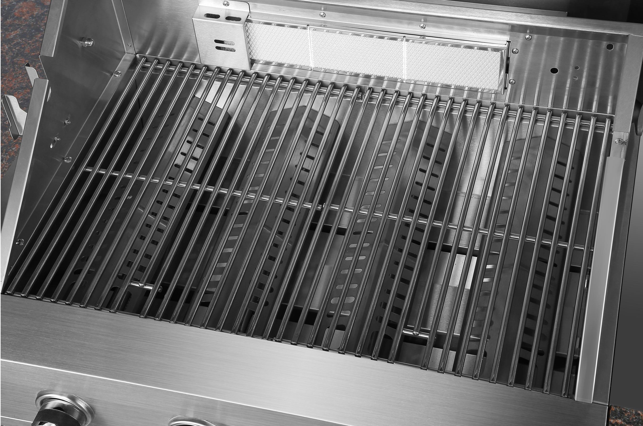 El Fuego Outdoor Grillküche Built In Edelstahl 4 +1 Infrarot Bild 4