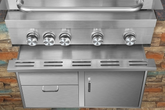 El Fuego Outdoor Grillküche Built In Edelstahl 4 +1 Infrarot Bild 7