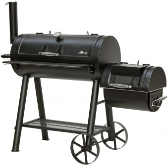 El Fuego Smoker Grill / Holzkohlegrill Buffalo Grillfläche 39,5x30cm Bild 1