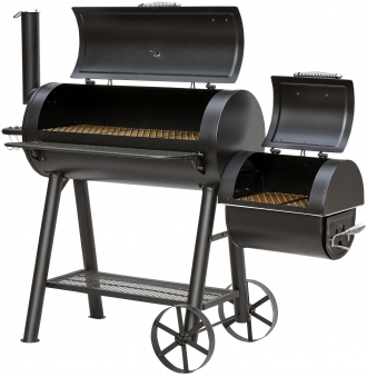 El Fuego Smoker Grill / Holzkohlegrill Buffalo Grillfläche 39,5x30cm Bild 2