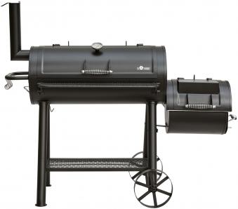 El Fuego Smoker Grill / Holzkohlegrill Buffalo Grillfläche 39,5x30cm Bild 3
