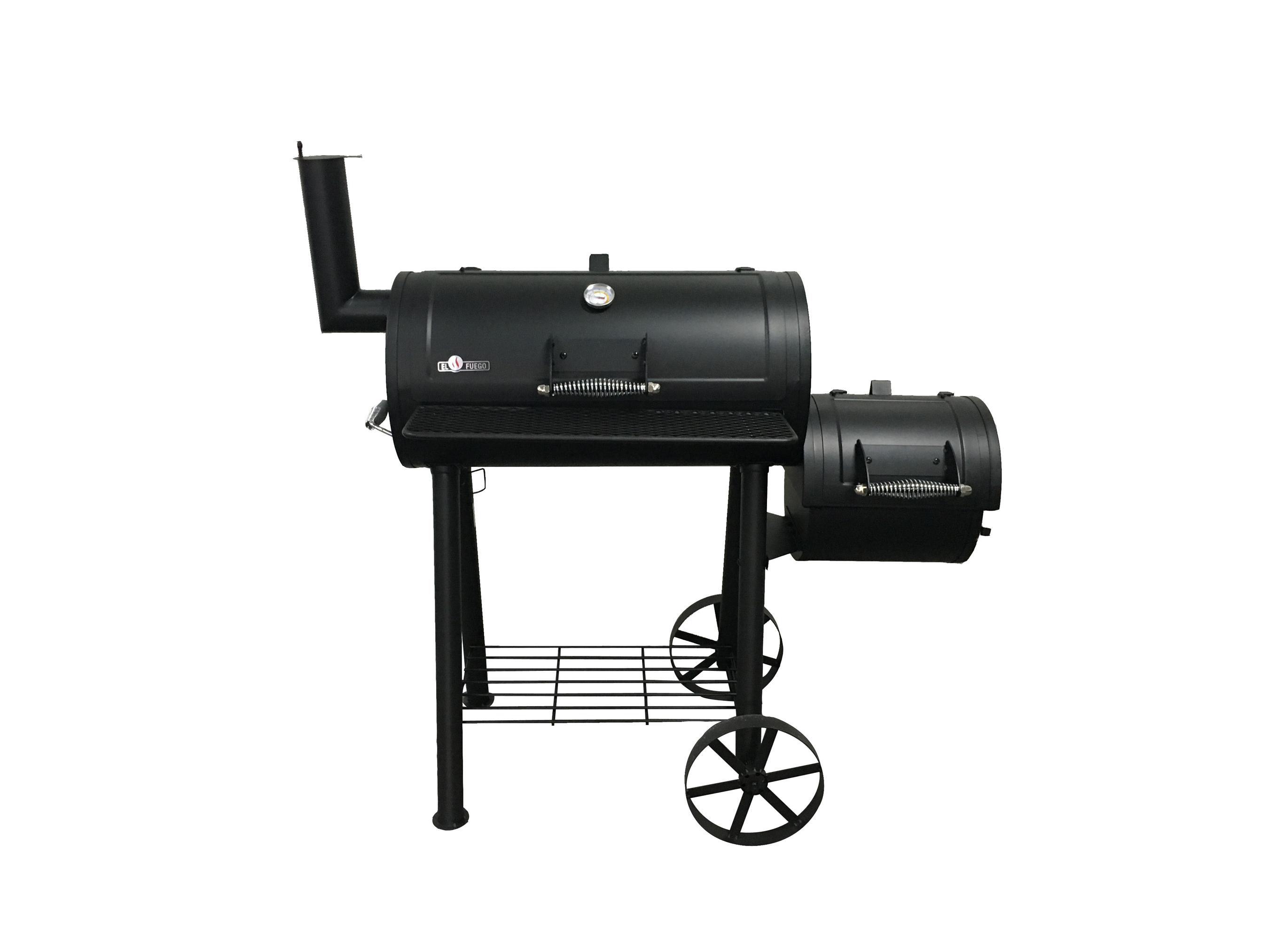 El Fuego Smoker Grill / Holzkohlegrill Edmonton Grillfläche 66x34cm Bild 8
