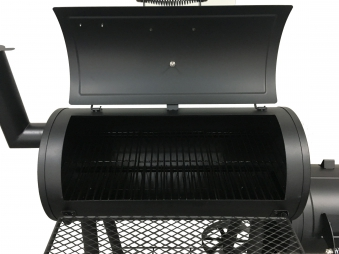 El Fuego Smoker Grill / Holzkohlegrill Edmonton Grillfläche 66x34cm Bild 3