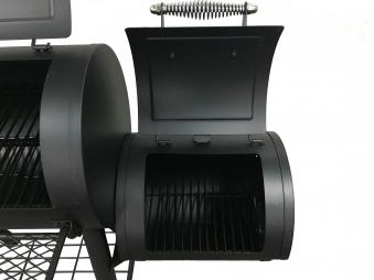 El Fuego Smoker Grill / Holzkohlegrill Edmonton Grillfläche 66x34cm Bild 4