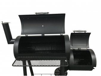 El Fuego Smoker Grill / Holzkohlegrill Edmonton Grillfläche 66x34cm Bild 5