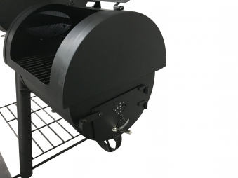El Fuego Smoker Grill / Holzkohlegrill Edmonton Grillfläche 66x34cm Bild 6