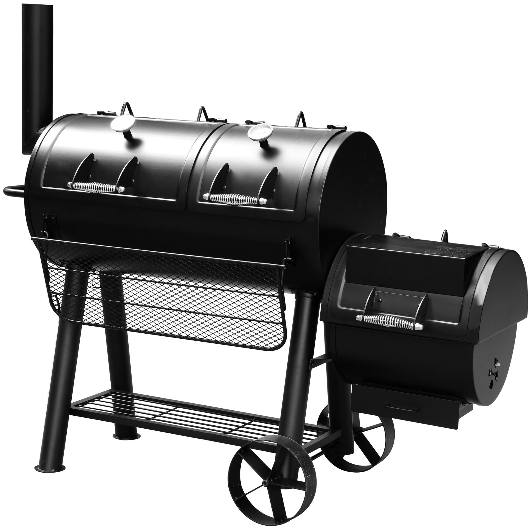El Fuego Smoker Grill / Holzkohlegrill Minnesota Grillfläche 99x49cm Bild 1