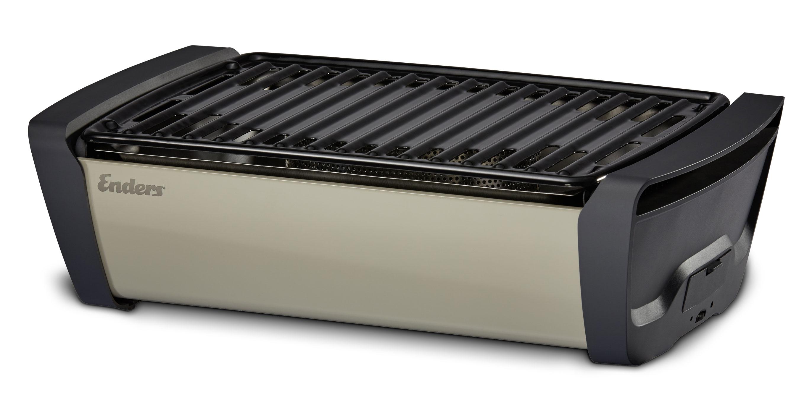Enders Gasgrill : Enders raucharmer grill tischgrill aurora taupe grillfläche