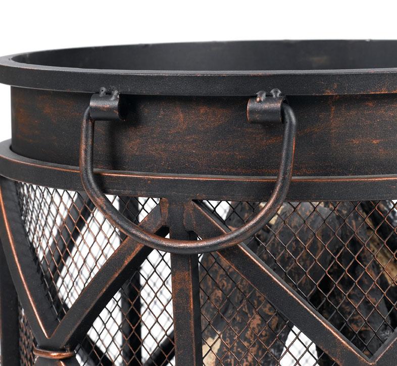 Feuerkorb / Feuerstelle / Lagerfeuer Tepro Gracewood Ø42cm Bild 3