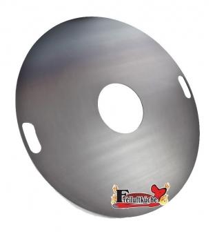 Feuerplatte, Grillplatte, Grillring, Plancha für Stahltonne Ø80cm Bild 1