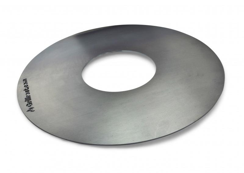 Feuerplatte, Plancha, Grillring für Kugelgrill Ø57cm Bild 1