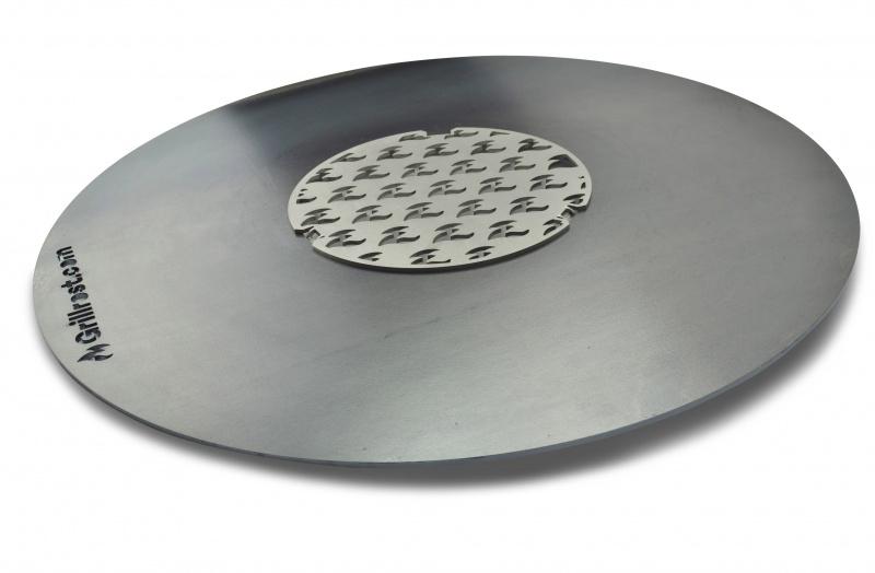 Feuerplatte, Plancha, Grillring für Kugelgrill Ø57cm Bild 7