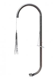 Grillgalgen Eisen für Feuerschale Eisen 55-75cm