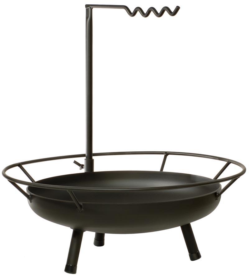 feuerschale lagerfeuer kochstelle grill stahl firepit 90 x 95 cm bild 2. Black Bedroom Furniture Sets. Home Design Ideas