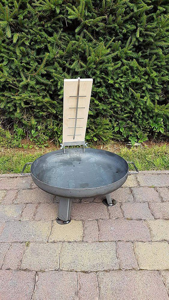 Feuerschale Set 80cm mit Flammlachsbrett Bild 1