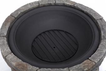 Feuerstelle / Terrassenfeuer Gladstone Steinoptik Ø67,5cm Bild 2