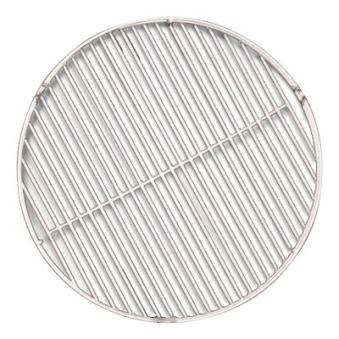 Grillrost Edelstahl poliert rund Ø 80 cm