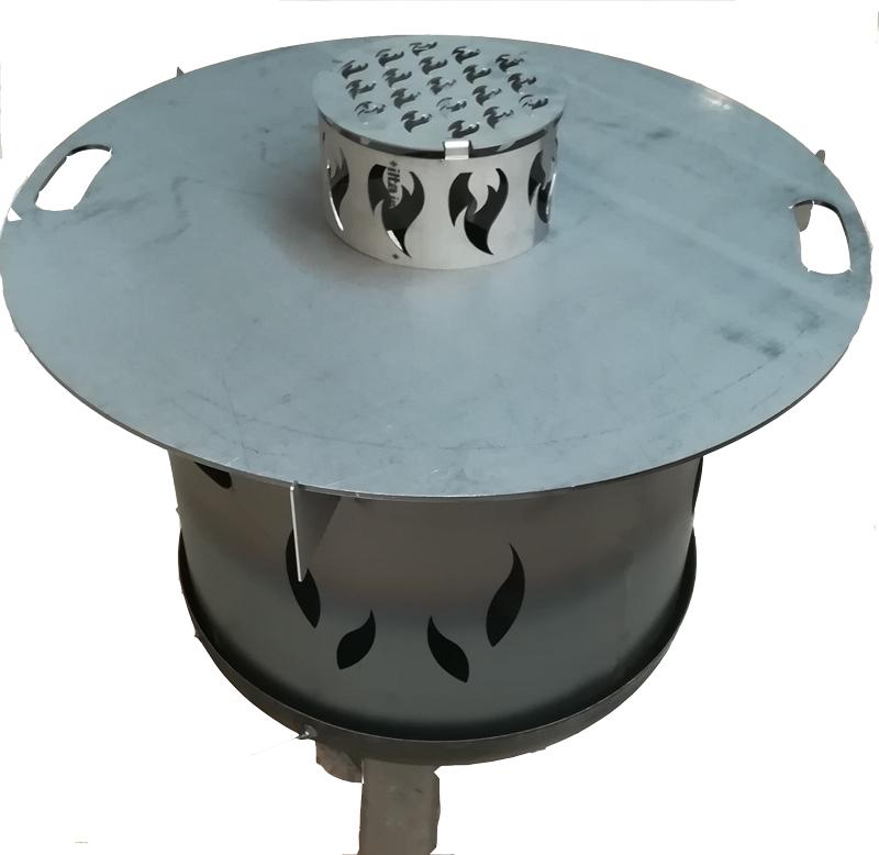 Grillrost Einsatz Ø20cm für Feuerplatte Bild 5