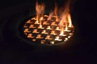 Grillrost Einsatz Ø20cm für Feuerplatte Bild 4
