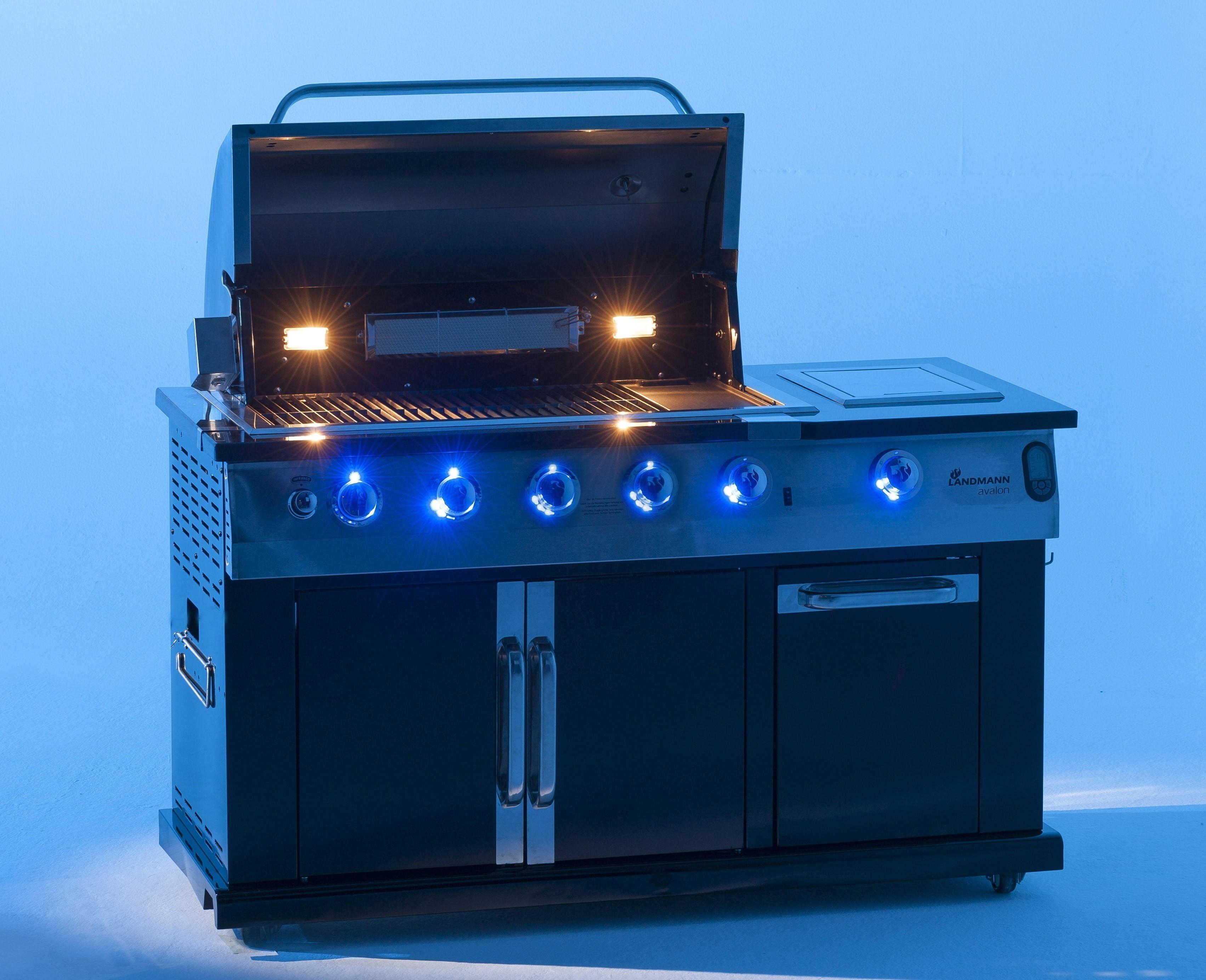 landmann grillwagen outdoor k che gasgrillk che avalon pts 6 1 12780 bei On landmann outdoor küche