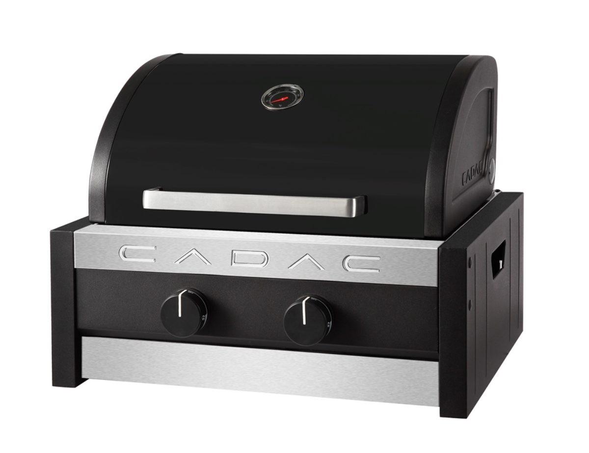CADAC Gasgrill / Tischgrill Stratos Tabletop 2B schwarz 38x41,5cm Bild 1