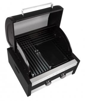 CADAC Gasgrill / Tischgrill Stratos Tabletop 2B schwarz 38x41,5cm Bild 2