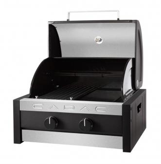 CADAC Gasgrill / Tischgrill Stratos Tabletop 2B schwarz 38x41,5cm Bild 3