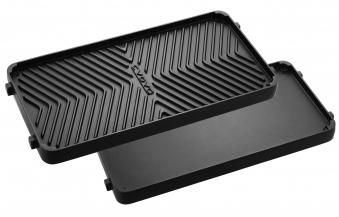 CADAC Grillplatte / Wendegrillplatte für Gasgrill Stratos 41,5 x 19 cm