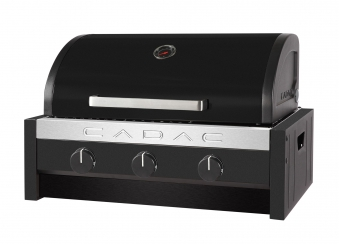 CADAC Gasgrill / Tischgrill Stratos Tabletop 3B schwarz 57x41,5cm Bild 1