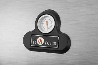 El Fuego Gasgrill / Grillwagen Bellevue 5 Brenner +1 Grill 76x45cm Bild 7