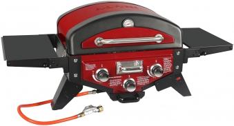 El Fuego Gasgrill / Tischgrill Medison rot Grillfläche 49x33,5cm Bild 1