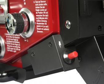 El Fuego Gasgrill / Tischgrill Medison rot Grillfläche 49x33,5cm Bild 7