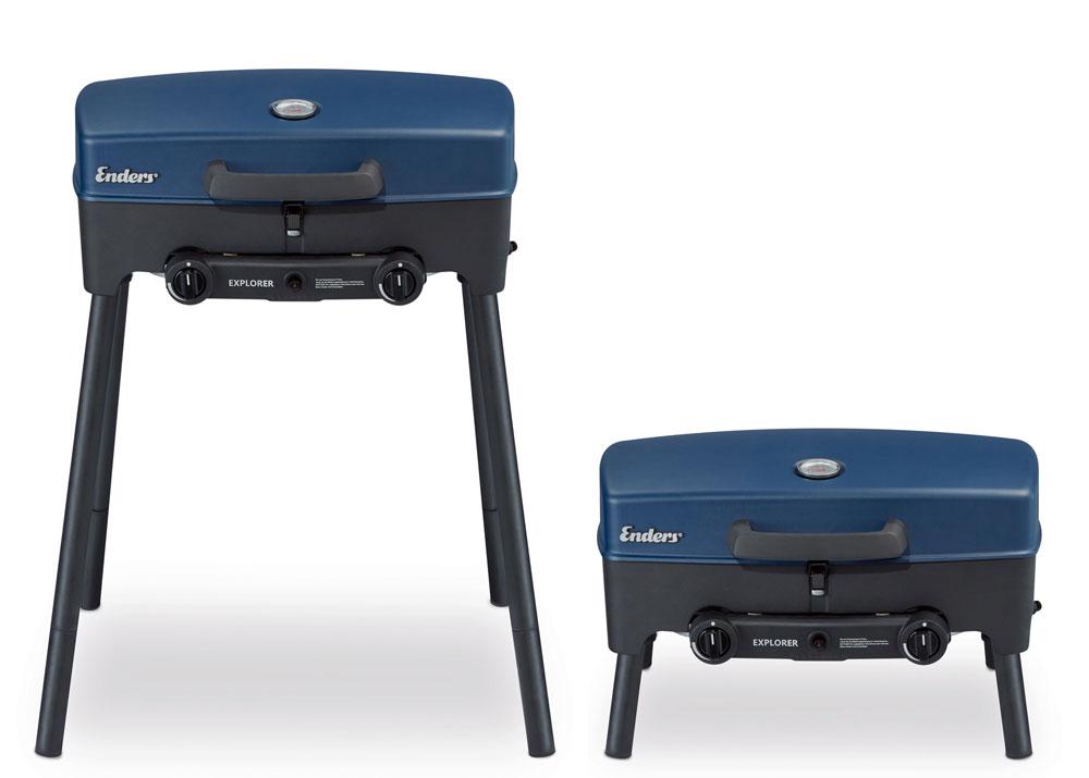 gasgrill campinggrill tischgrill enders explorer bei. Black Bedroom Furniture Sets. Home Design Ideas