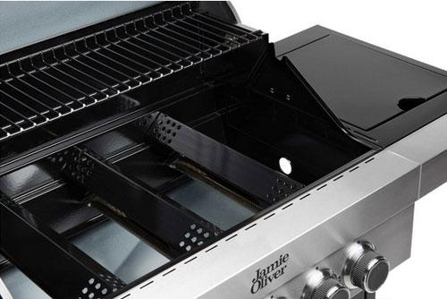 Gasgrill / Grillwagen Jamie Oliver Classic 4S schwarz Bild 4