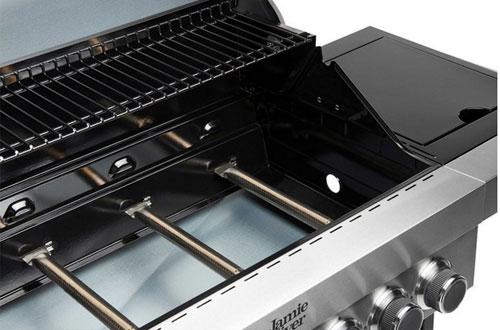 Gasgrill / Grillwagen Jamie Oliver Classic 4S schwarz Bild 5