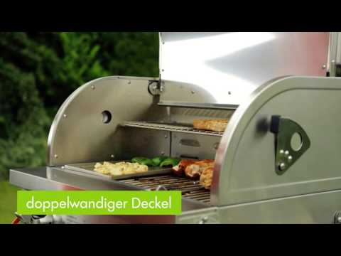Tepro Gasgrill / Tischgrill Cleveland Grillfl. 56x36cm Video Screenshot 1029