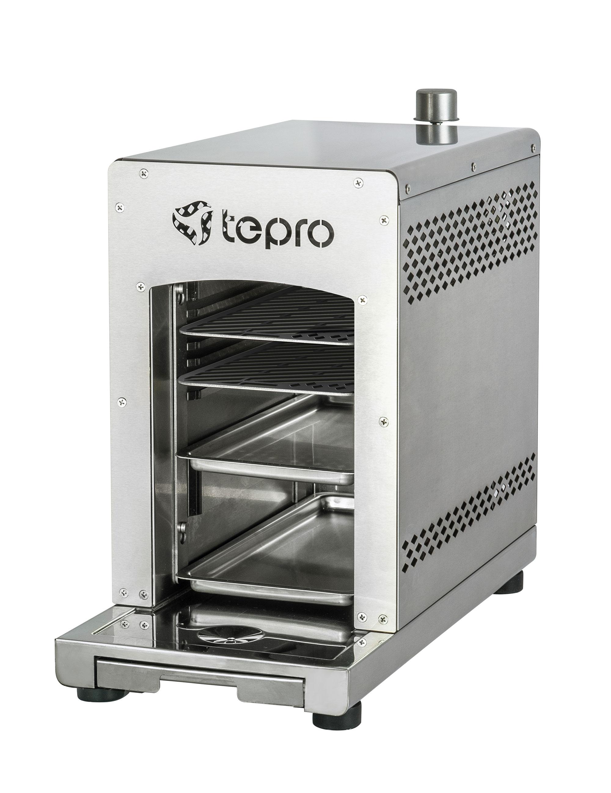 Tepro Steakgrill / Oberhitze Gasgrill / Tischgrill Toronto 31,5x15,4cm Bild 1