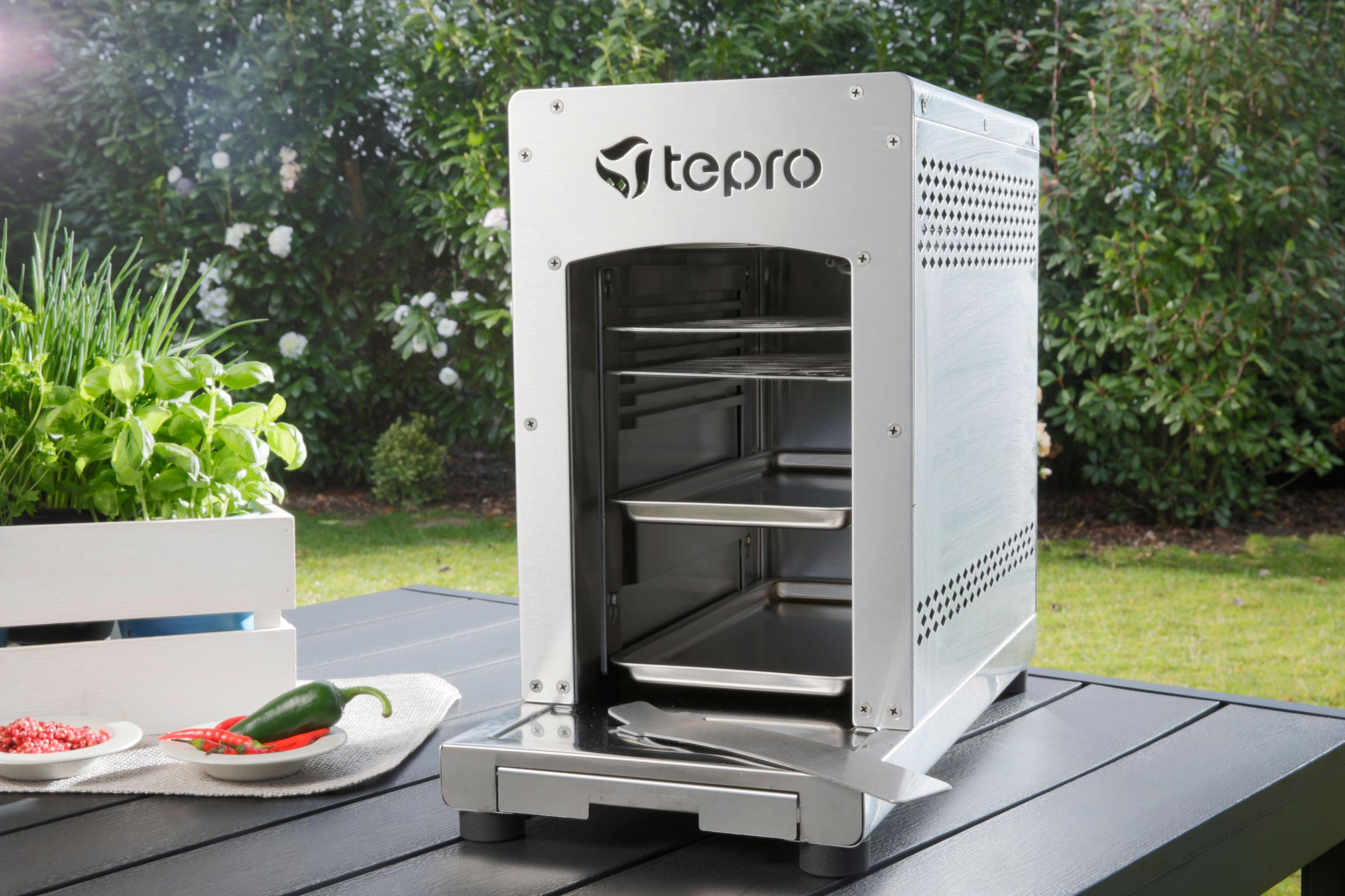 Tepro Steakgrill / Oberhitze Gasgrill / Tischgrill Toronto 31,5x15,4cm Bild 13