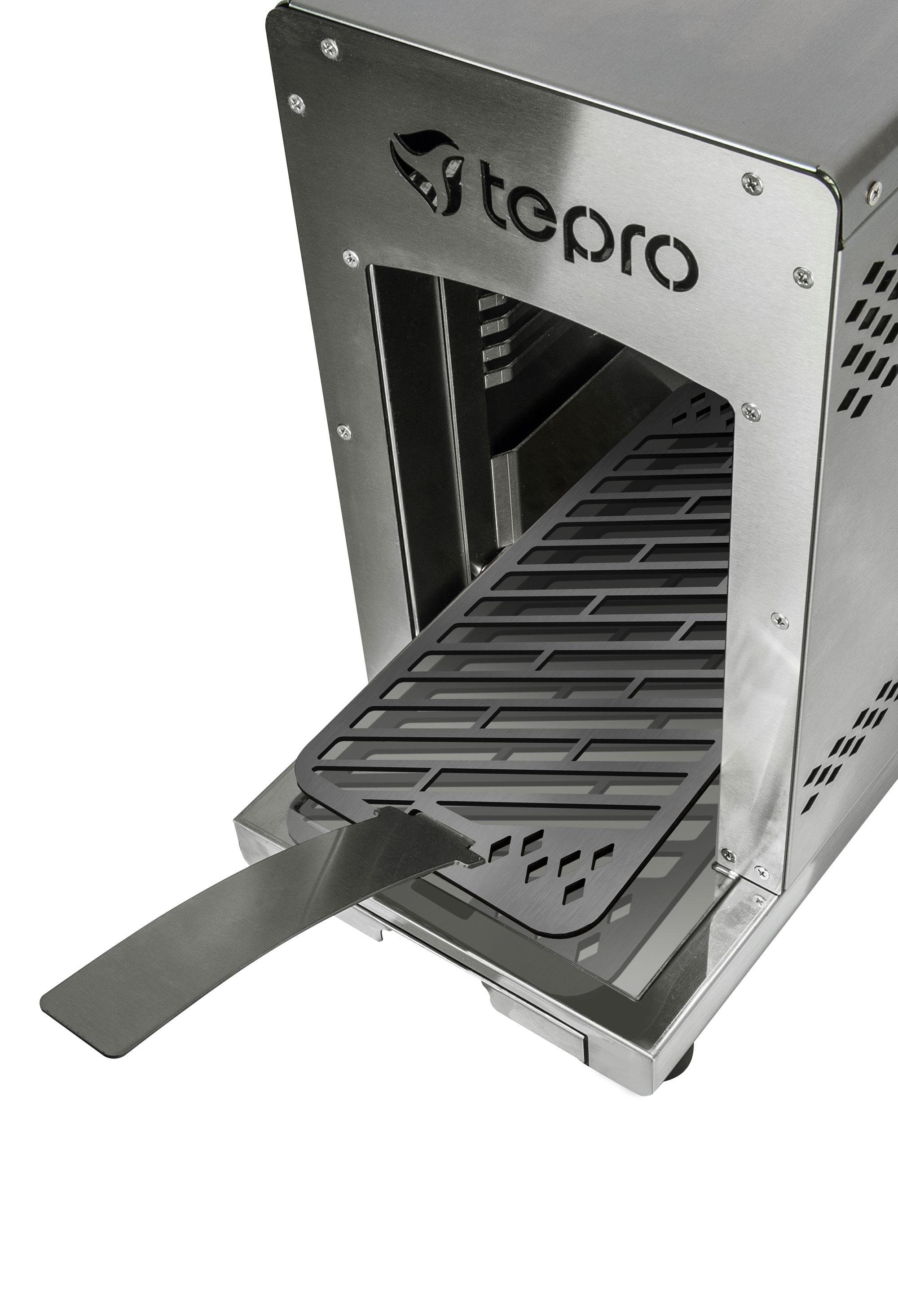 Tepro Steakgrill / Oberhitze Gasgrill / Tischgrill Toronto 31,5x15,4cm Bild 5