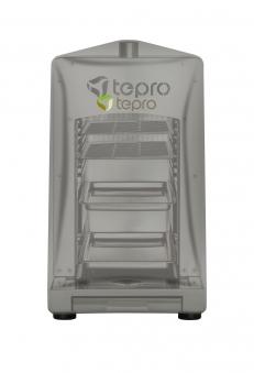 Universal Abdeckhaube für Tepro Steakgrill anthrazit 28x58x36cm