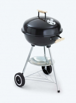 GRILL CHEF Holzkohlegrill / Kugelgrill Ø 44cm 0423