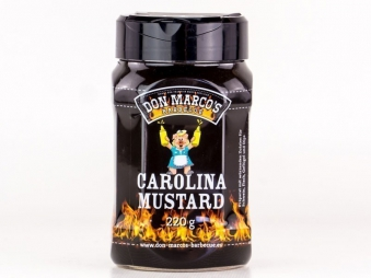 Don Marco´s Barbecue Rub Carolina Mustard 220g Bild 1