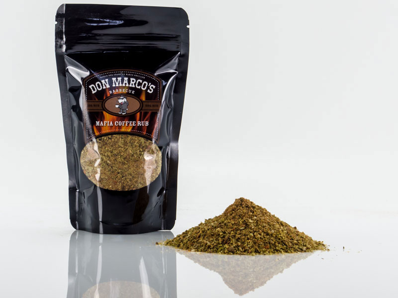 Don Marco´s Barbecue Rub Mafia Coffee 630g Bild 1