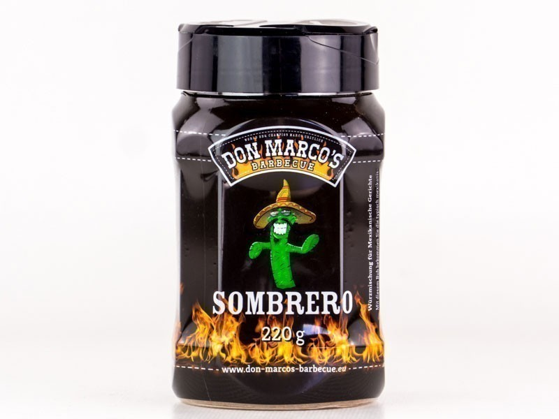 Don Marco´s Barbecue Rub Sombrero 220g Bild 1